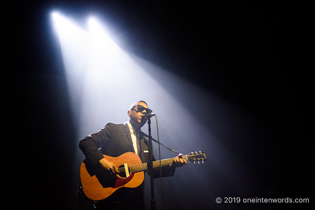 Murray A. Lightburn at Budweiser Gardens in London Ontario on April 28, 2019 Photo by John Ordean at One In Ten Words oneintenwords.com toronto indie alternative live music blog concert photography pictures photos nikon d750 camera yyz photographer