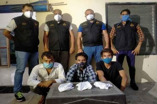 faridabad-crime-branch-sector-48-arrested-criminals