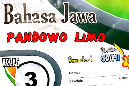 Crita Pandhawa Lima Pawulang 1. Kebecikan Materi bahasa Jawa kelas 3 SD/MI terbaru tahun ajaran 2019/2020