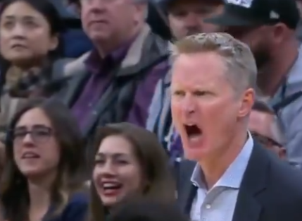Steve Kerr ejected for yelling at referee 1/7/2020