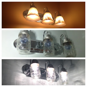 Mason jar light fixture diy, do it yourself mason jar light tutorial, rachael ray