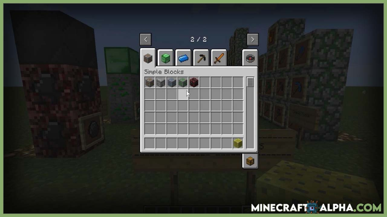 Minecraft New SimpleOres Mod X 1.17.1 (New Alloy Ingots and Items)