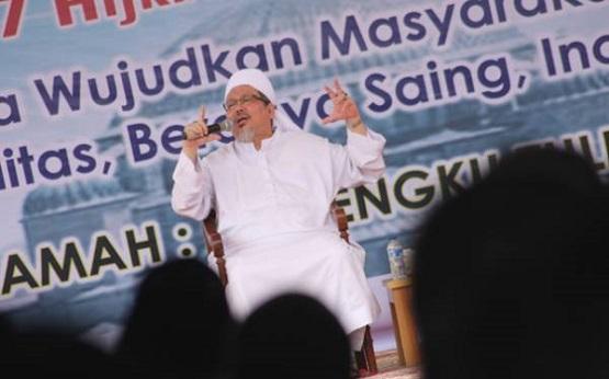 Ustadz Tengku Zulkarnain: '50 Persen Minta Presiden Mundur, Semuanya Bakal Nyungsep'