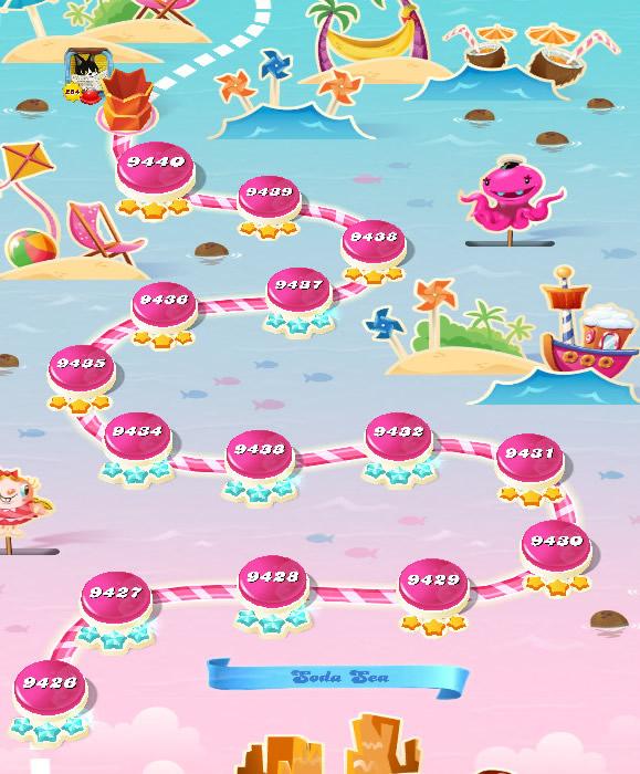 Candy Crush Saga level 9426-9440