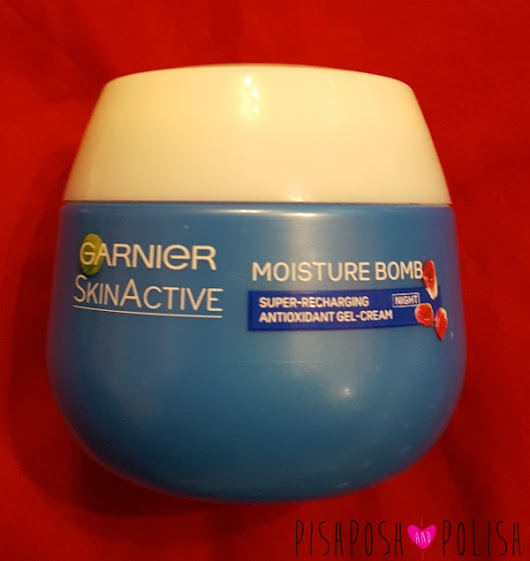 Garnier SkinActive Moisture Bomb Night Cream Review