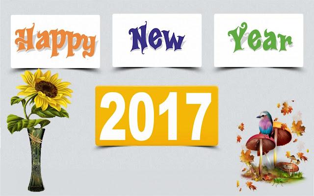 Hình nền chúc mừng năm mới 2017 mới nhất - Happy New Year
