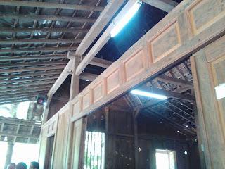 Salah satu sudut bangunan di Kopi Klotok Kaliurang