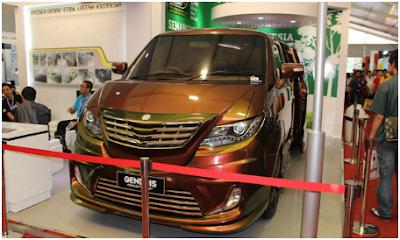Berikut Mobil listrik Gendhis terbaru