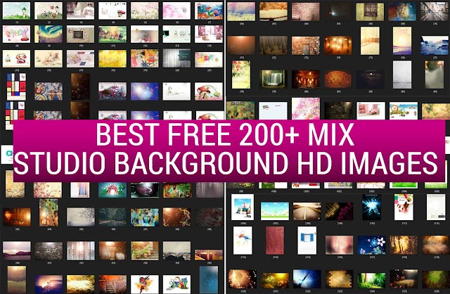 Best Free 200+ Mix Studio Background HD Images VOL 2