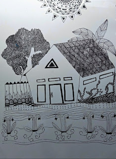 zentangle-rumah