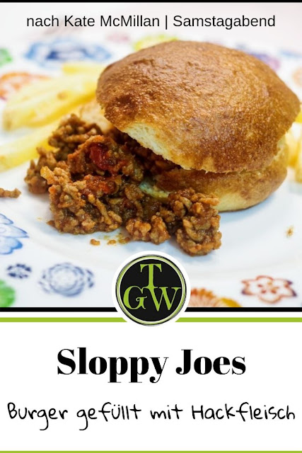 {Buchwerbung} echte, amerikanische Sloppy Joes aus Samstagabend #callwey #samstagabend #sloppyjoes #usa #amerikanisch #burger #faschiertes #hackfleisch