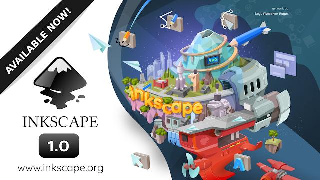 Inkscape 1.0 正式版がリリース