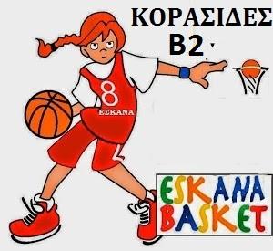 ΚΟΡΑΣΙΔΕΣ Β2 2019-20 ΠΡΟΓΡΑΜΜΑ