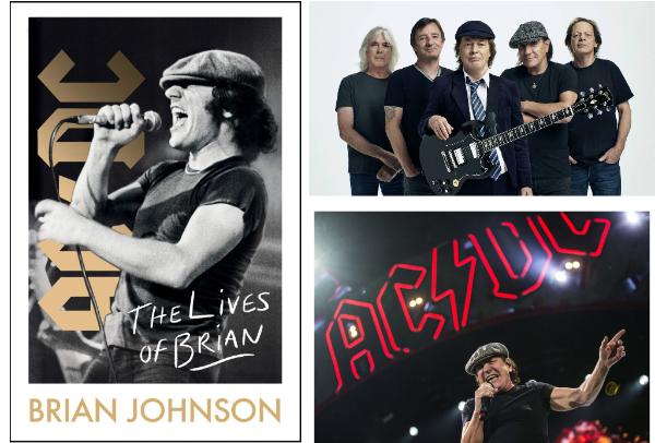 """The Lives of Brian"" Autobiografía de Brian Johnson."