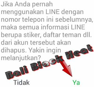 Daftar akun line