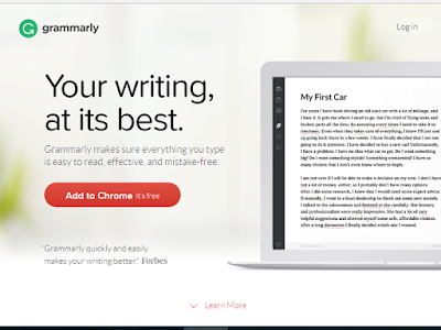 Grammarly is a powerful proofreading tool you can use to perfect your work