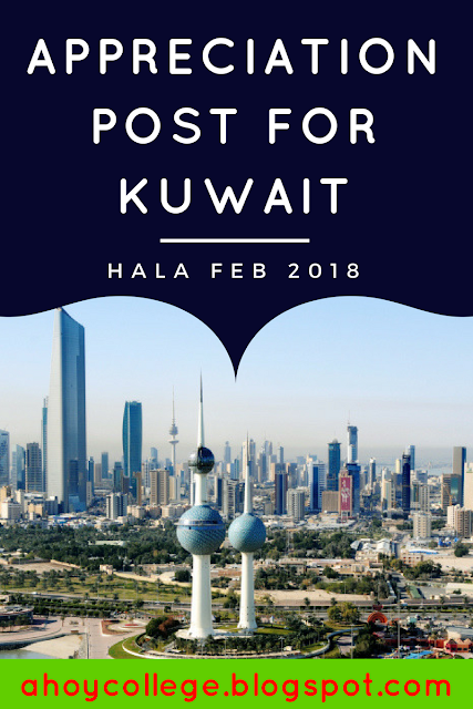 Why do we love Kuwait? An appreciation post for all that Kuwait has done for us for the occasion of National and Liberation day of Kuwait. #Halafeb