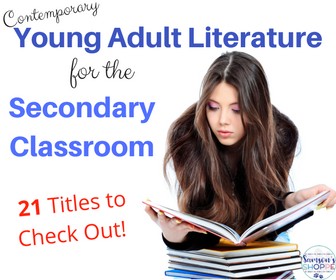 add to your secondary classroom library using contemporary adult fiction novels this back to school season