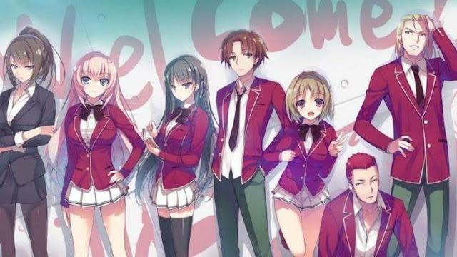 Download Light Novel Youkoso Jitsuryoku Shijou Shugi no Kyoushitsu e bahasa indonesia