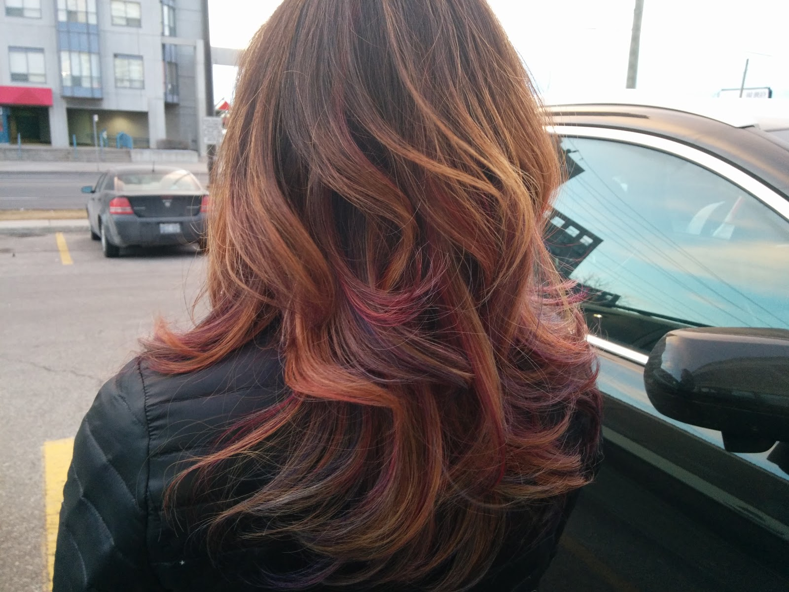 Lisasobsessions Rainbow Hair Balayage With Honey Highlights On