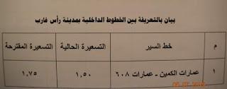ننشر التعريفه الجديده للمواصلات داخل وبين المدن المصرية بعد زياده اسعار الوقود بجميع المحافظات FB_IMG_1562347889264