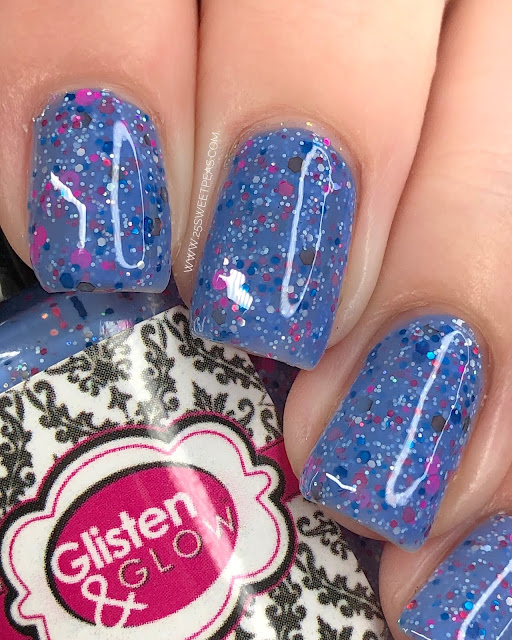 Glisten & Glow Mystery Polish January 2020 25 Sweetpeas