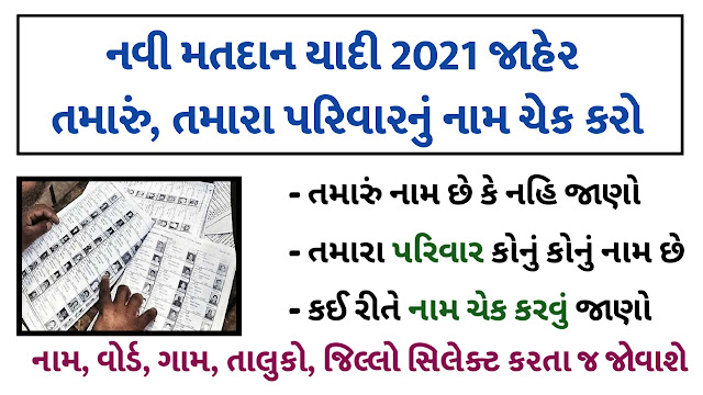 How To Check the name on Gujarat voter list
