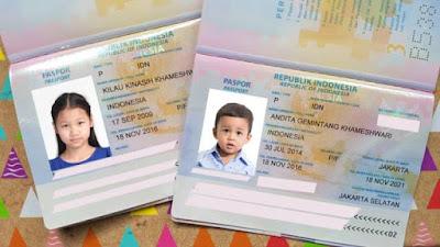 Syarat Dan Cara Membuat Paspor Anak - Anak