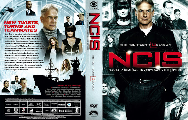 NCIS Season 14 DVD Cover