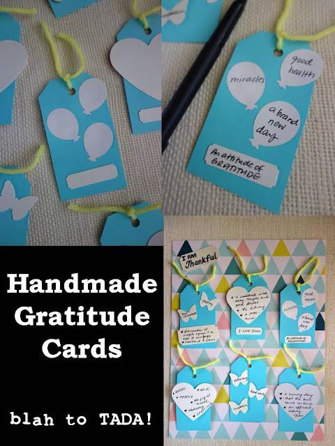 Handmade Gratitude Cards
