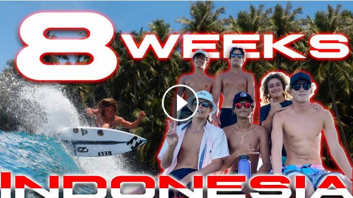 8 WEEKS IN INDONESIA
