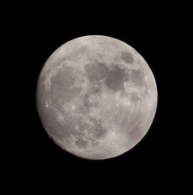 Full moon image of November 1 (Source: Palmia Observatory)