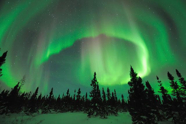 Aurora over Manitoba