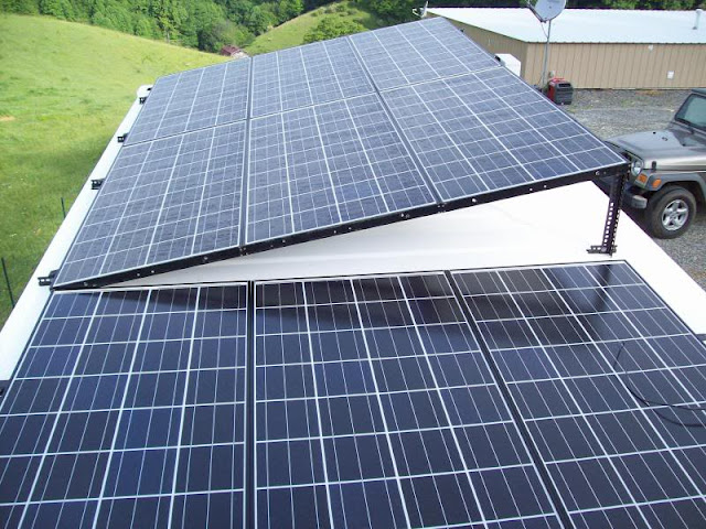 Mike And Lisa S World Chapter 68 Mounting Solar Panels
