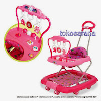 FAMILY FB2068LD AYUNAN - MAINAN GT - TONGKAT Baby Walker