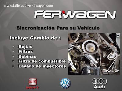 Sincronizacion Audi Volkswagen SEAT