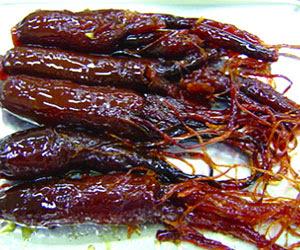 resep Insam jeonggwa (인삼정과)