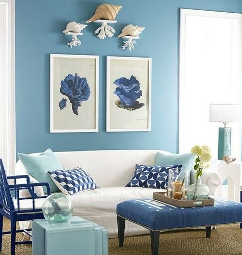 Light Pale Bright Blue Paint Ideas For The Coastal Home Walls Furniture Floors More Coastal Decor Ideas Interior Design Diy Shopping