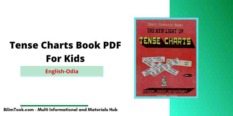 English-Odia Tense Charts Book For Kids - PDF Download