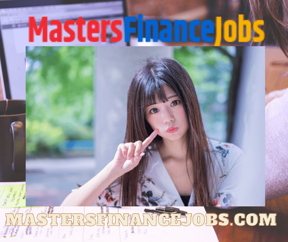 Masters Finance Jobs - Steeped in Tact, Masters Finance Jobs