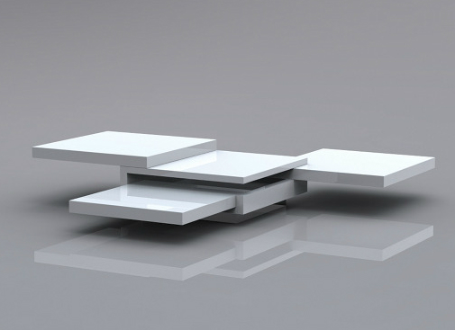 Between The Lines expandable coffee table concept | Spicytec