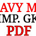 Navy mr gk Important pdf 2019