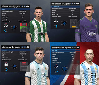 PES 2017 Facepack November 2019 Vol 1 by Luciano