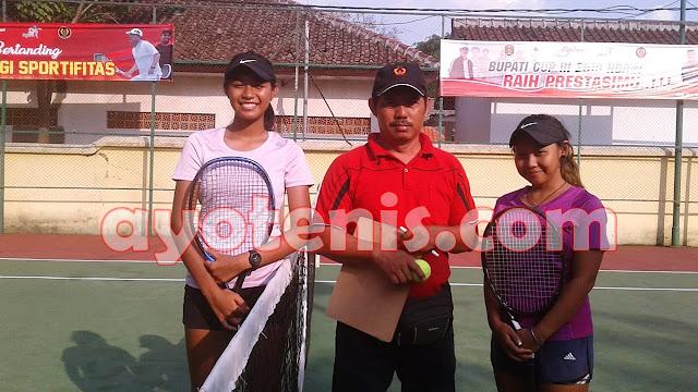Kejurnas Tenis Bupati Cup Ngawi III: Diah Ayu Belum Terbendung