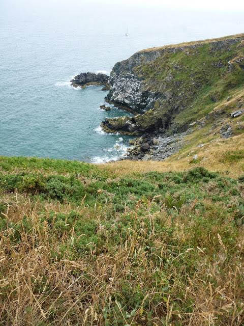 Travel Ireland by Rail from Dublin: Cliff views in Howth Ireland