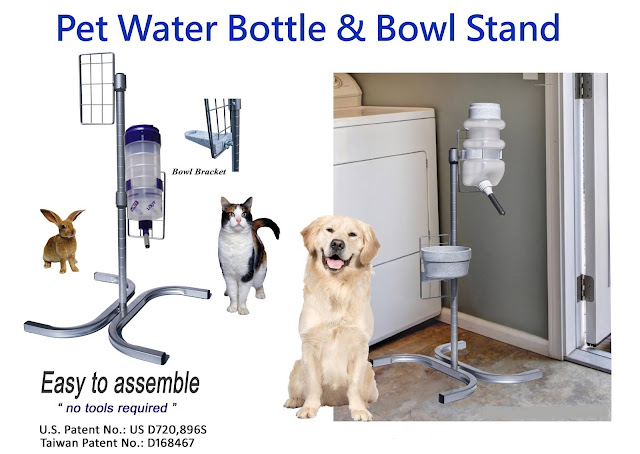 pet water bottle rack, pet water bottle shelf