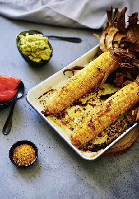 épis de mais , épices , nomie épices , recette facile , cuisine végétarienne