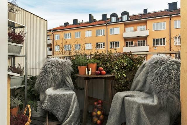 Scandinavian Balcony Tips and Ideas