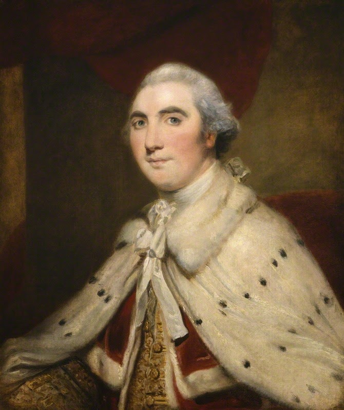 William Petty, 1st Marquess of Lansdowne,  (Lord Shelburne) after Sir Joshua Reynolds  oil on canvas 1766 © NPG43 (1)