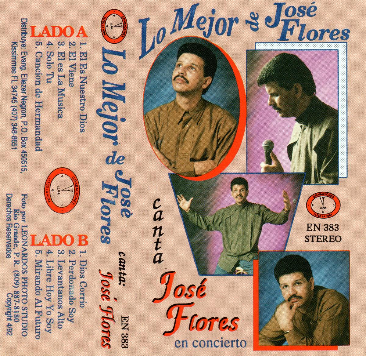 José Flores-Lo Mejor-